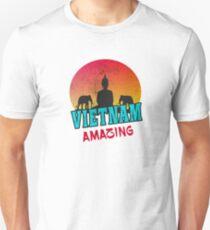 Vietnam Buddha design with elephants Unisex T-Shirt