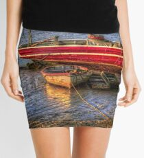 Water's Edge  Mini Skirt