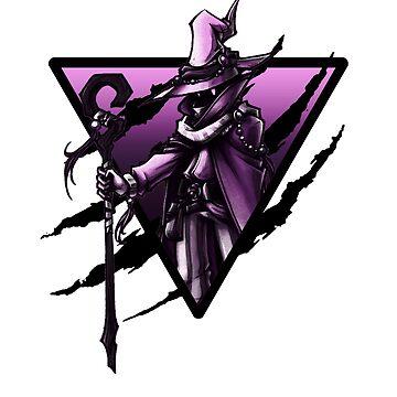 Black mage triangle by Zenixer