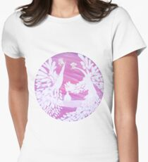 Serenity - The Magical Birds  Women's Fitted T-Shirt