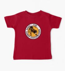 Saber Tooth Tiger SAVE WILDLIFE Conservation Baby Tee