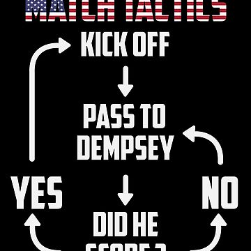 Match Tactics US Team Funny Black shirt BY WearYourPassion  by domraf