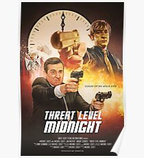 Micheal Scarn - Threat Level Midnight Poster Poster
