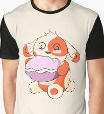 Spinda enjoying a Poké Puff Graphic T-Shirt