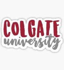 Colgate University Sticker