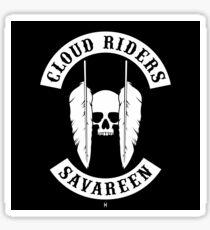 Cloud Riders Sticker