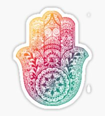 Warm Hamsa Sticker