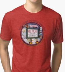 Welcome to Hill Valley - Sky Way Billboard Tri-blend T-Shirt