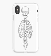 Axial Skeleton iPhone Case