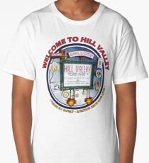 Welcome to Hill Valley - Sky Way Billboard Long T-Shirt