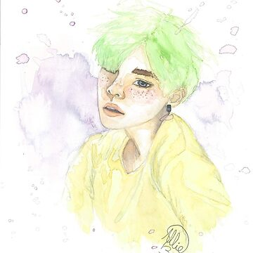 Mint Yoongi by -AllieB-