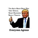 Trump Endorses As Great Great Dad by pjwuebker