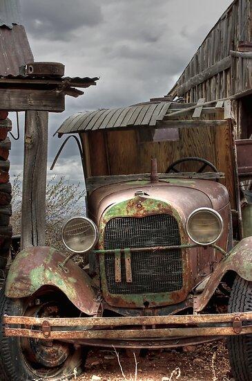 "Jerome, Arizona - ""Time Traveler"" by Candy Gemmill"