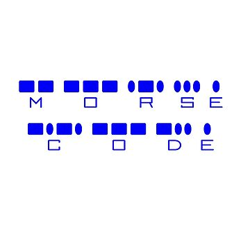 MORSE CODE by BigRedDot