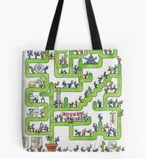 Ants and Cacti Tote Bag