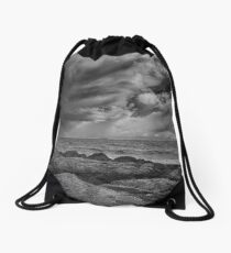 Stormy Coasts Drawstring Bag
