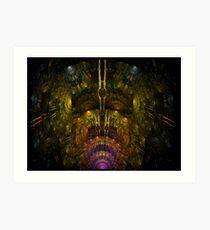 APO SPACE LABORATORY Art Print