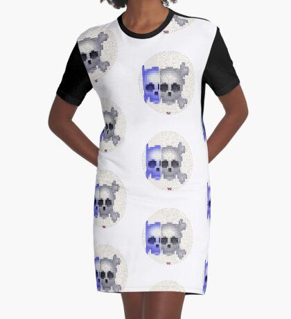 Emojii skullii-pix • 20 Graphic T-Shirt Dress