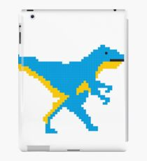8-bit dinosaur iPad Case/Skin