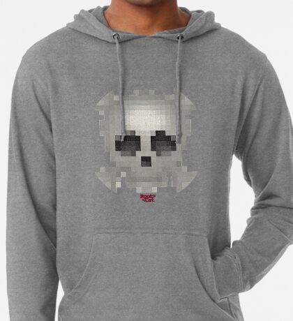 Emojii Skull Pixii #24 Lightweight Hoodie
