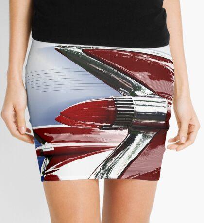 Retro Auto Mini Skirt