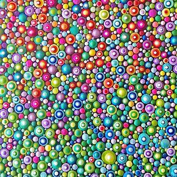 Colorful Dotting Art by mandalaole
