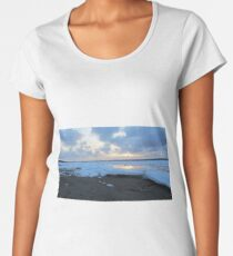 Reflections into Frozen Forevers Women's Premium T-Shirt