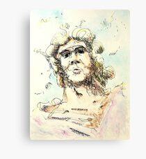 "Zeus - watercolor - 8"" x 10"" Canvas Print"