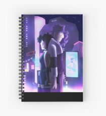 Bella and Laven- City Spiral Notebook