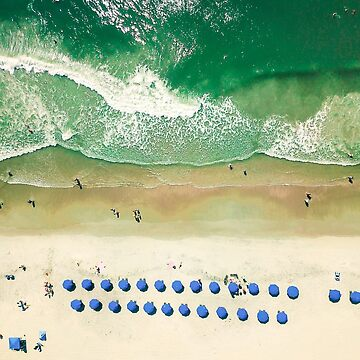 Aerial Beach II by oliviastclaire