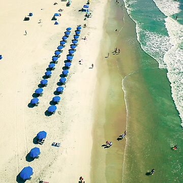 Aerial Beach III by oliviastclaire