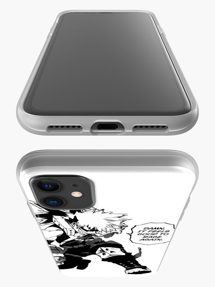 Alternate view of Raging Bakugou iPhone Case & Cover