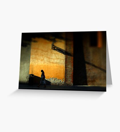 Shadows all around you Greeting Card