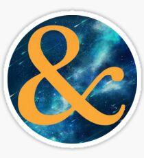 Of Mice & Men - & Logo 5 Sticker