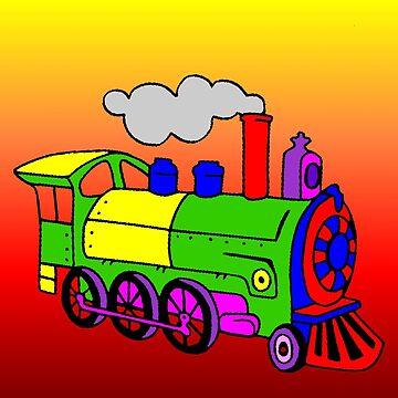 Steam train by missmoneypenny