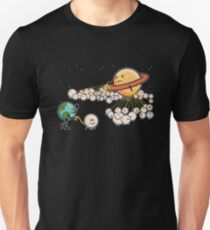 The Sun Has Too Many Moons Compared To Earth Unisex T-Shirt