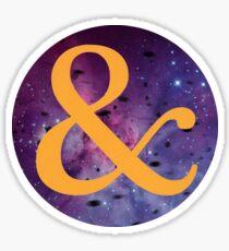Of Mice & Men - & Logo 6 Sticker