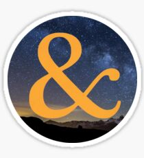 Of Mice & Men - & Logo 8 Sticker