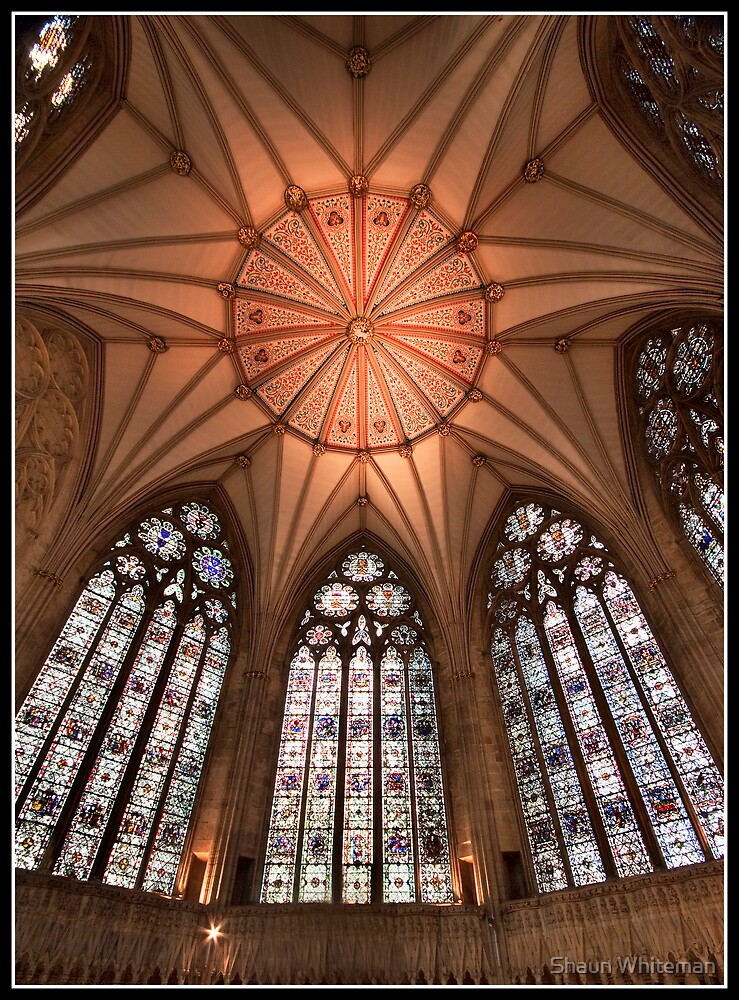 York minster chapter house dome by Shaun Whiteman