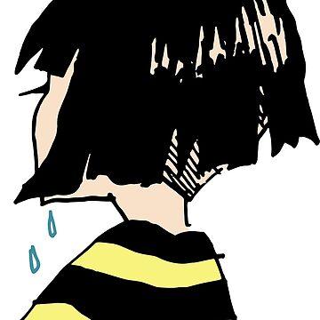 Sad Girl by ScissorCrazy