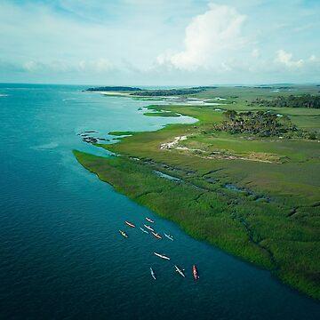 Sea Kayaks by oliviastclaire