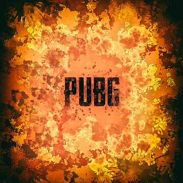 PUBG Gaming Paint Splatter by A-DIMENSION