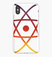 Evening Skies Science Atom Symbol iPhone Case