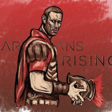 Arminius - Barbarians Rising by moosesquirrel