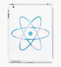 Water Color Science Atom Symbol iPad Case/Skin