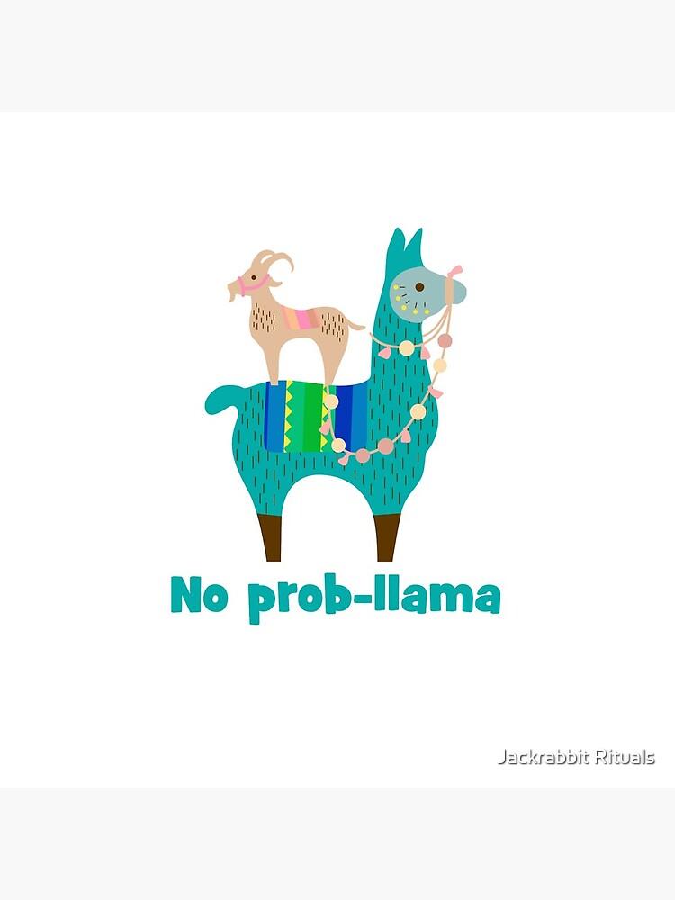 No Prob-Llama Cute Llama Alpaca Lover Gift by CreativeFit