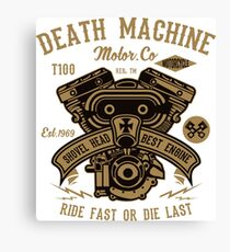 Engine V- Twin Canvas Print