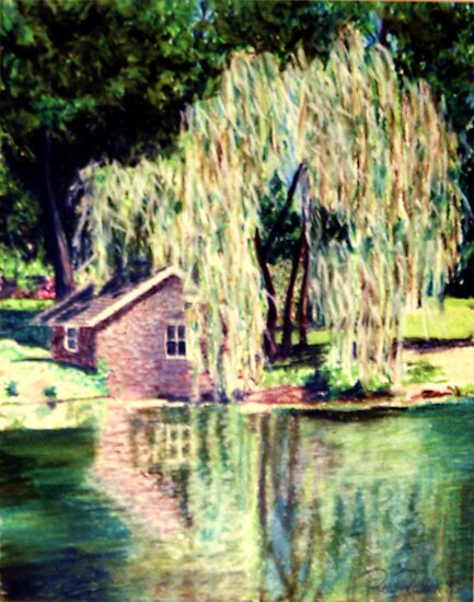 The Weeping Willow Tree by Polly Peacock