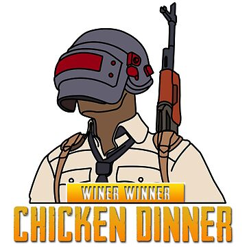 WINNER WINNER CHICKEN DINNER by GeeklyShirts