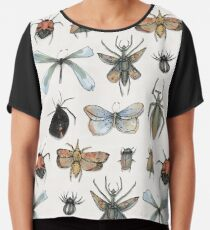 Entomology Chiffon Top